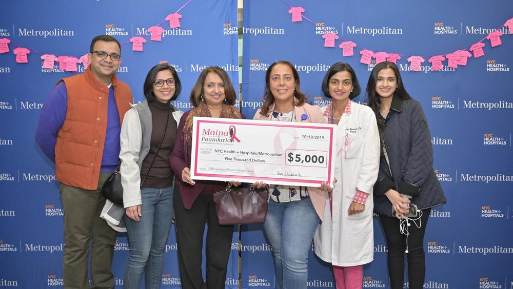 We are eMaina Foundation with Metropolitan Hospital Center - NYC HHC!